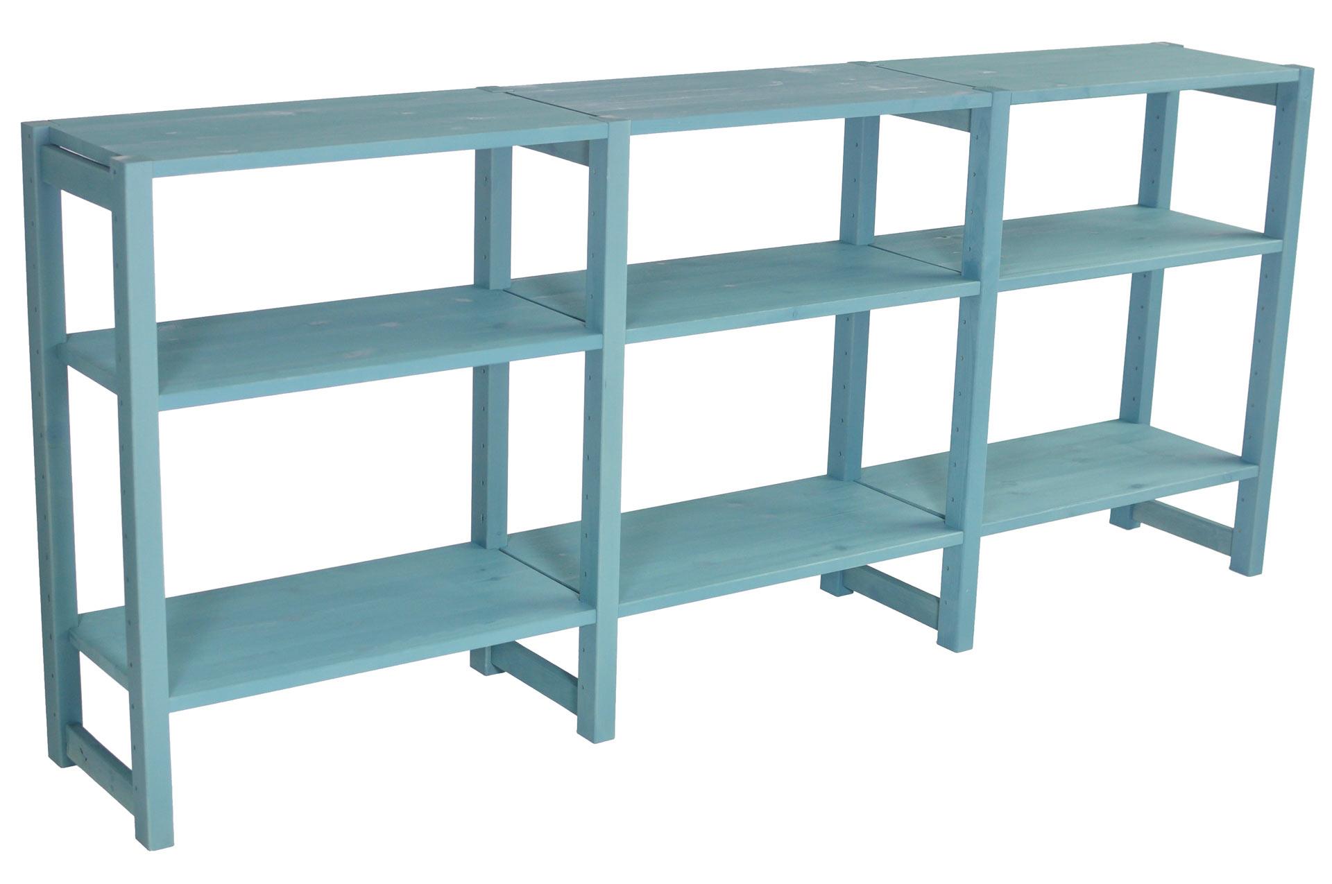 Sidobord, 180 x 30 x 78 cm, 3 sektioner, välj färg - SCALA CLASSIC