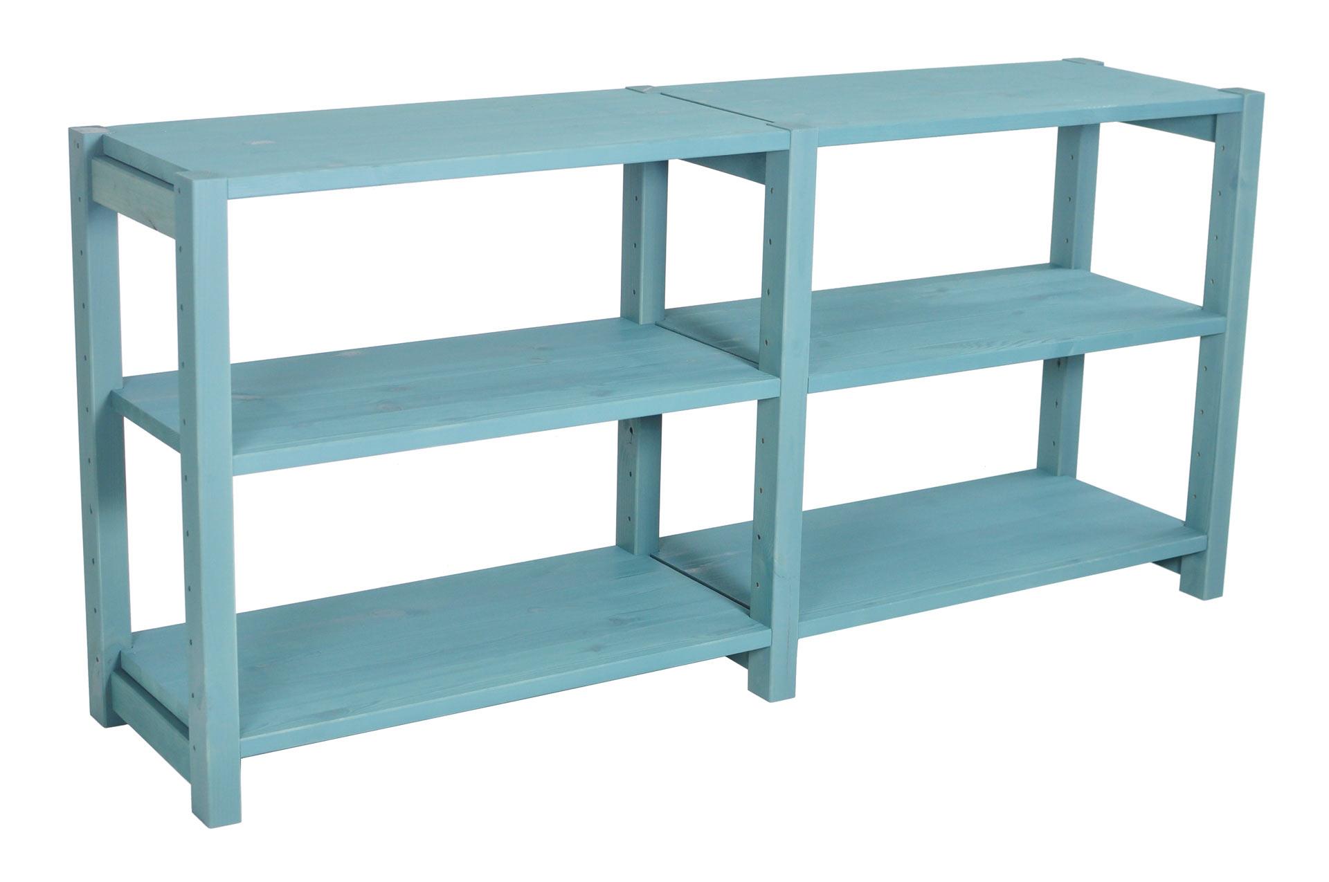TV Bänk, 120 x 30 x 58 cm, 2 sektioner, välj färg - SCALA CLASSIC