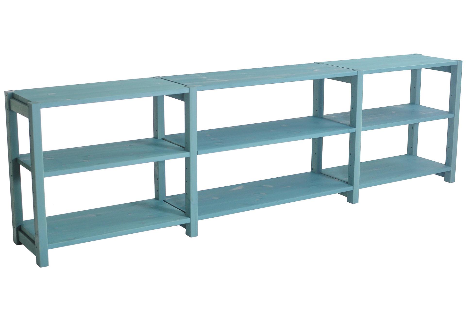Mediabänk, 200 x 30 x 58 cm, välj färg - SCALA CLASSIC